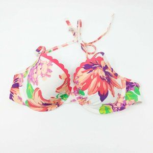 American Eagle Aerie Blakely Floral Bikini Top 34C